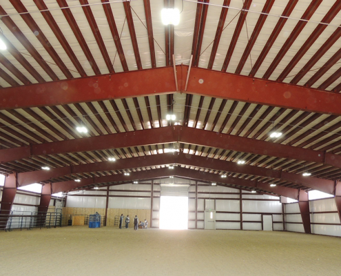 Metal Building Riding Arenas
