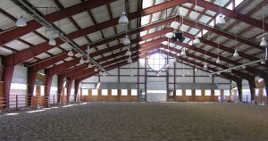 Metal Indoor Riding Arena