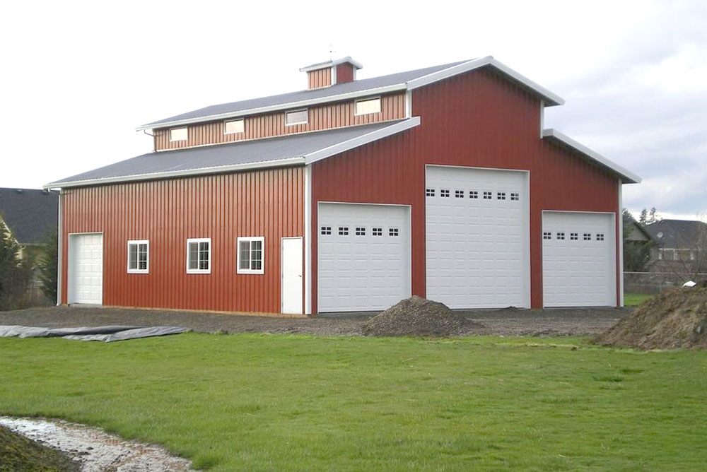 Steel Farm Building