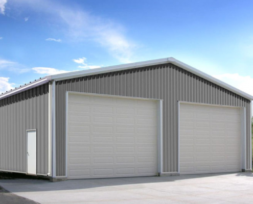 Steel Building Garage