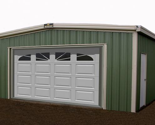 Steel Garage Building Kit