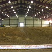 Metal Building Riding Arena
