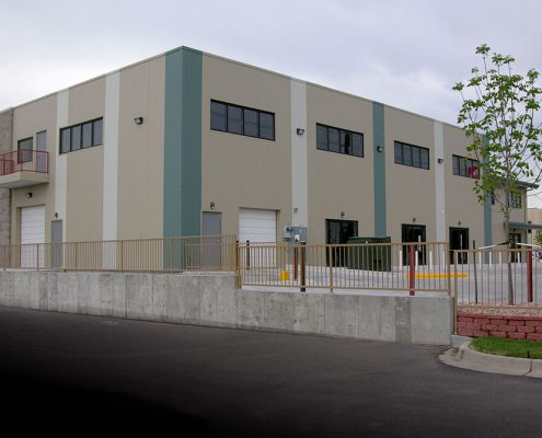 Commercial Metal Building Facility