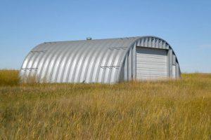 Steel Quonset Hut