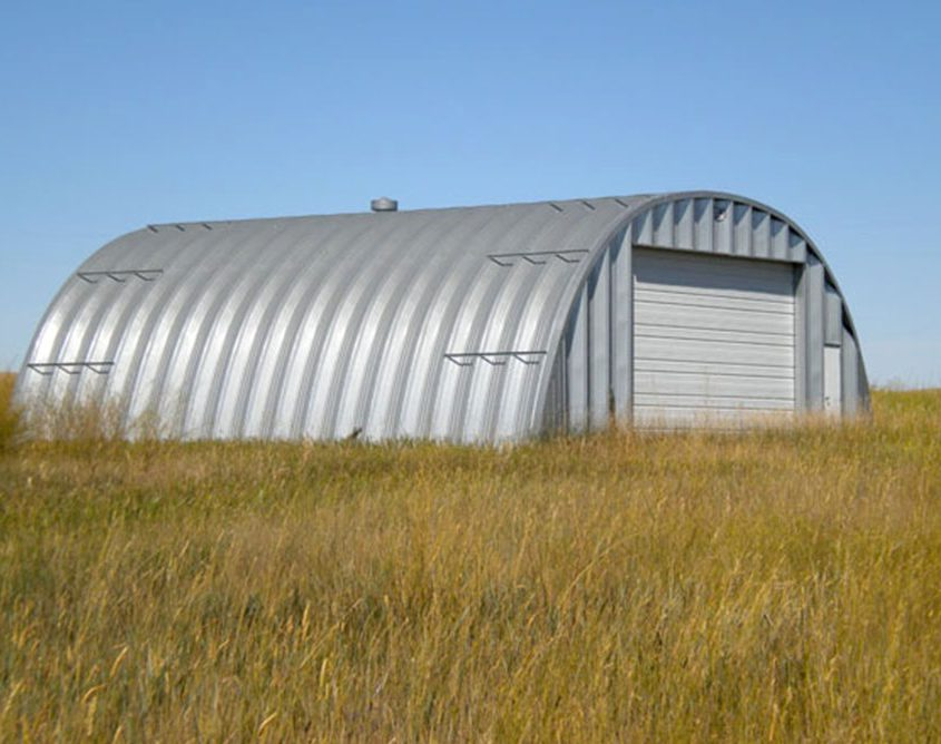 Steel Quonset Hut