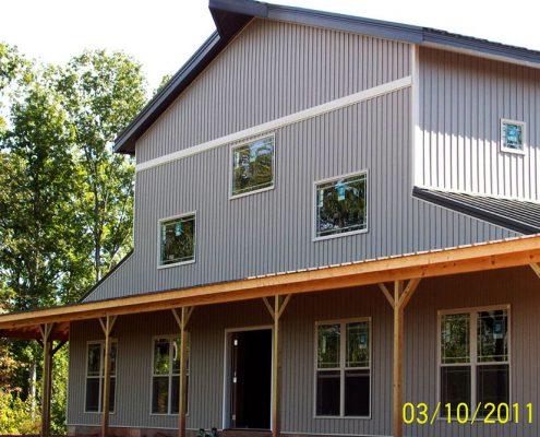 Large Metal Building Barn