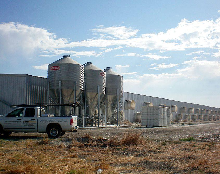 Steel Dairy Building