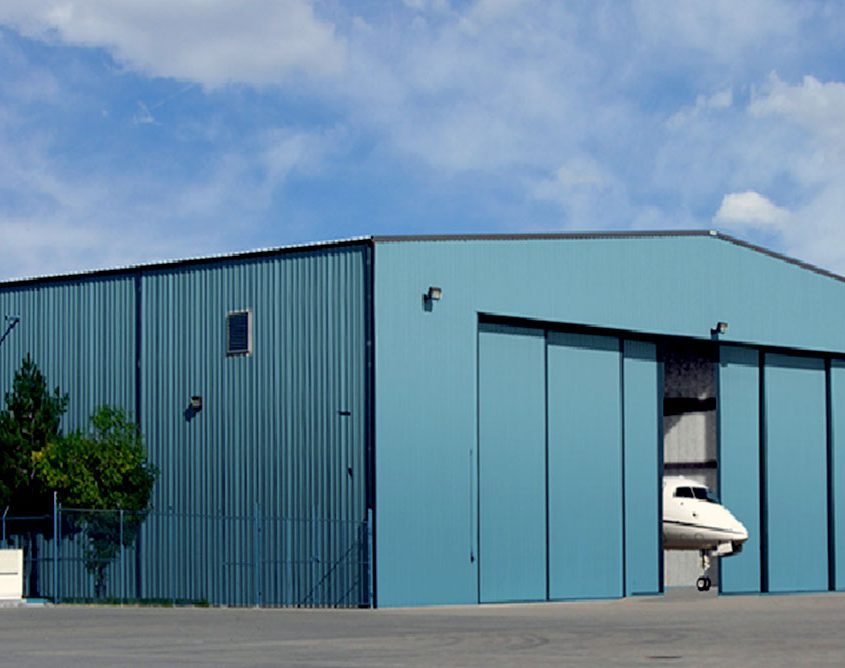 Steel Hangar Door