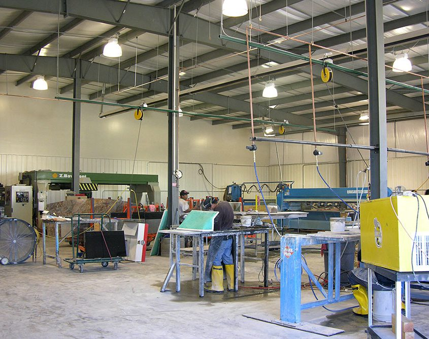 Steel Manufacaturing Building