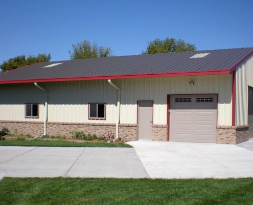 Residential Steel Garage