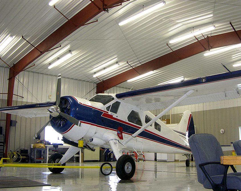 Metal Aircraft Hangar