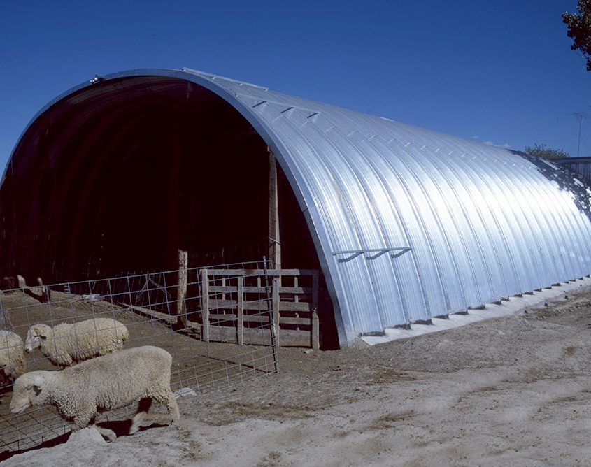 Arch Building Shade Protection