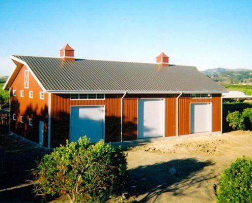 Metal Building Barn