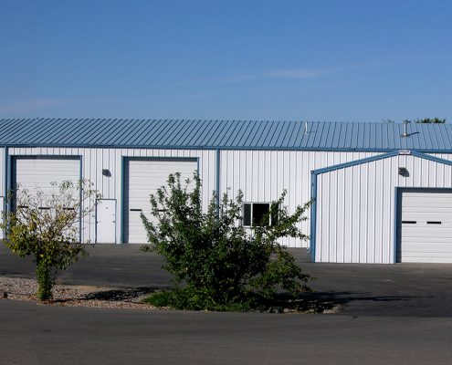 Metal Shop and Garage