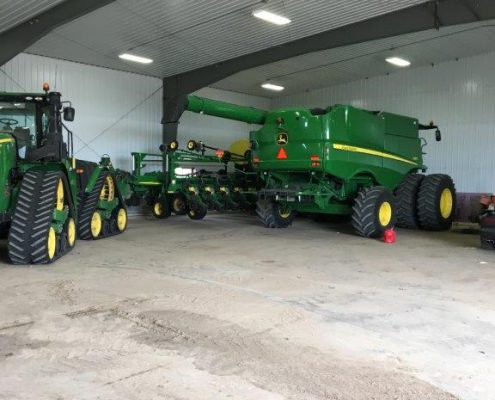 Farm Equipment Storage
