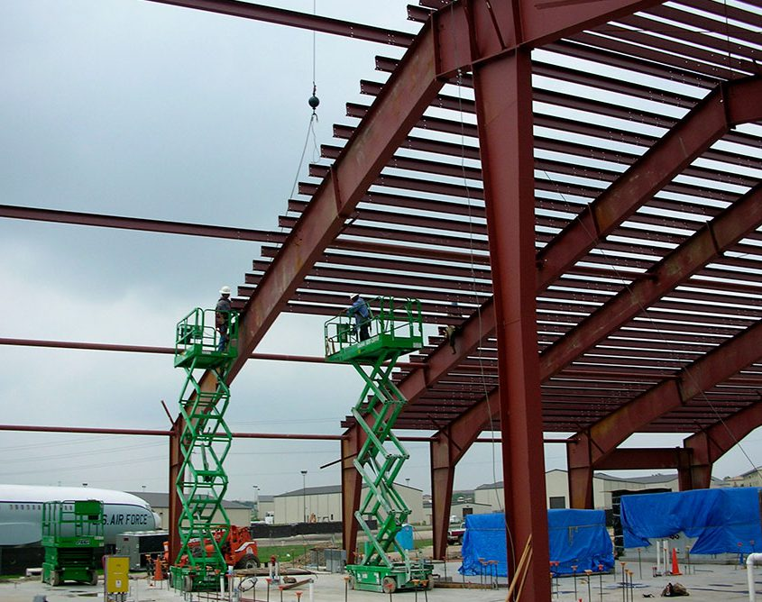 Constructing a Steel Building TX