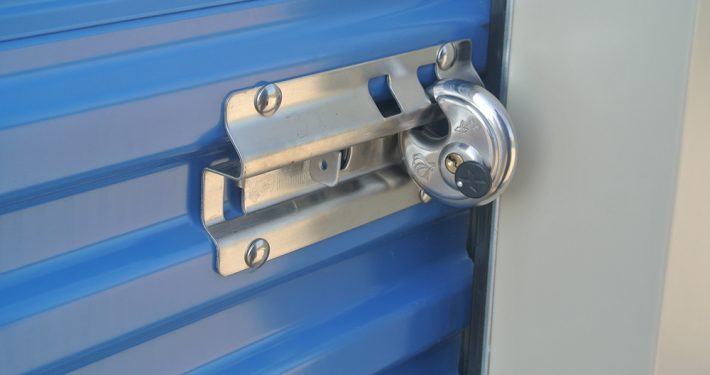 Self Storage Door Latch
