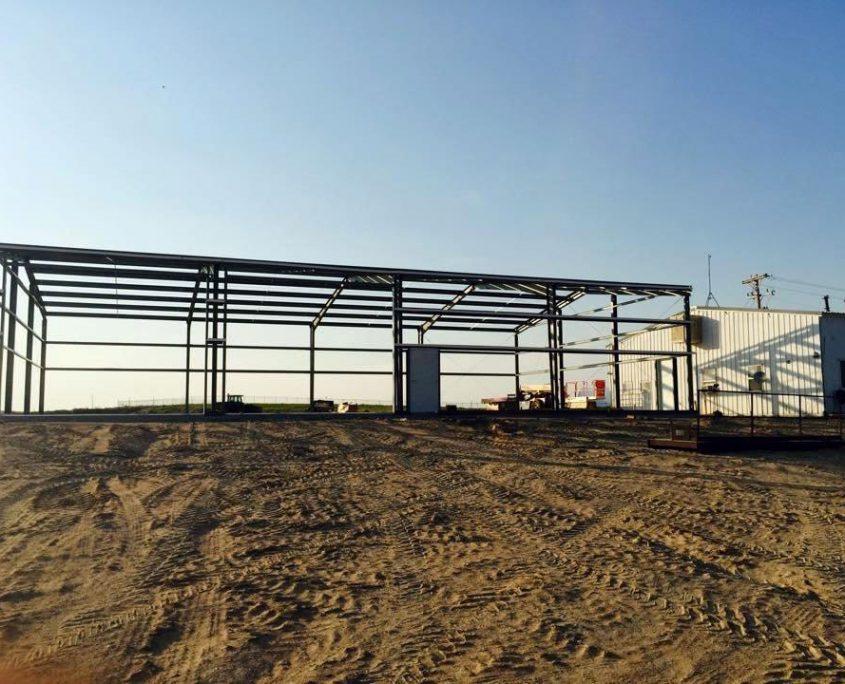 Steel Garage Building