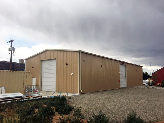 New Mexico Brewery Storage Building