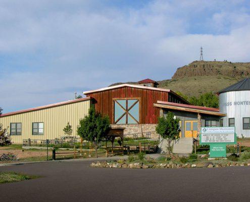 Metal Montessori School Building