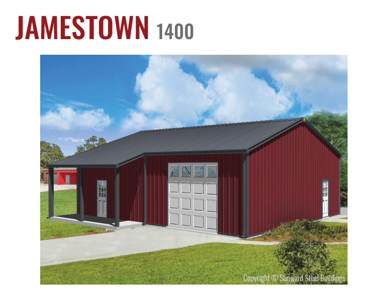 1400 Sq Ft Barndominium