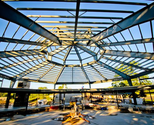 Custom Steel Roof Frame