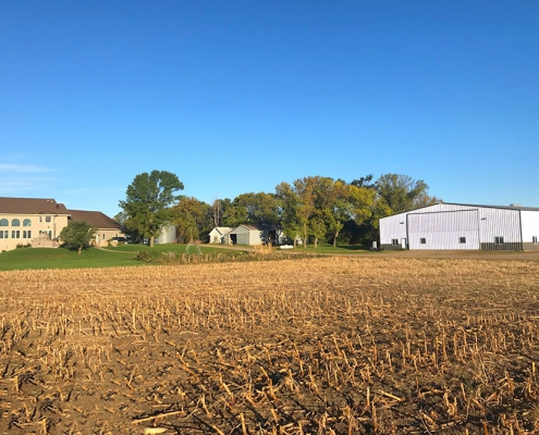 Metal Dairy Farm Building