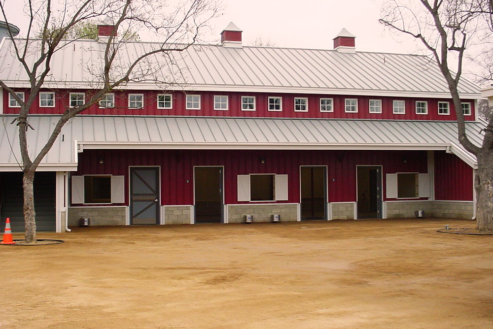 Metal Barn Building