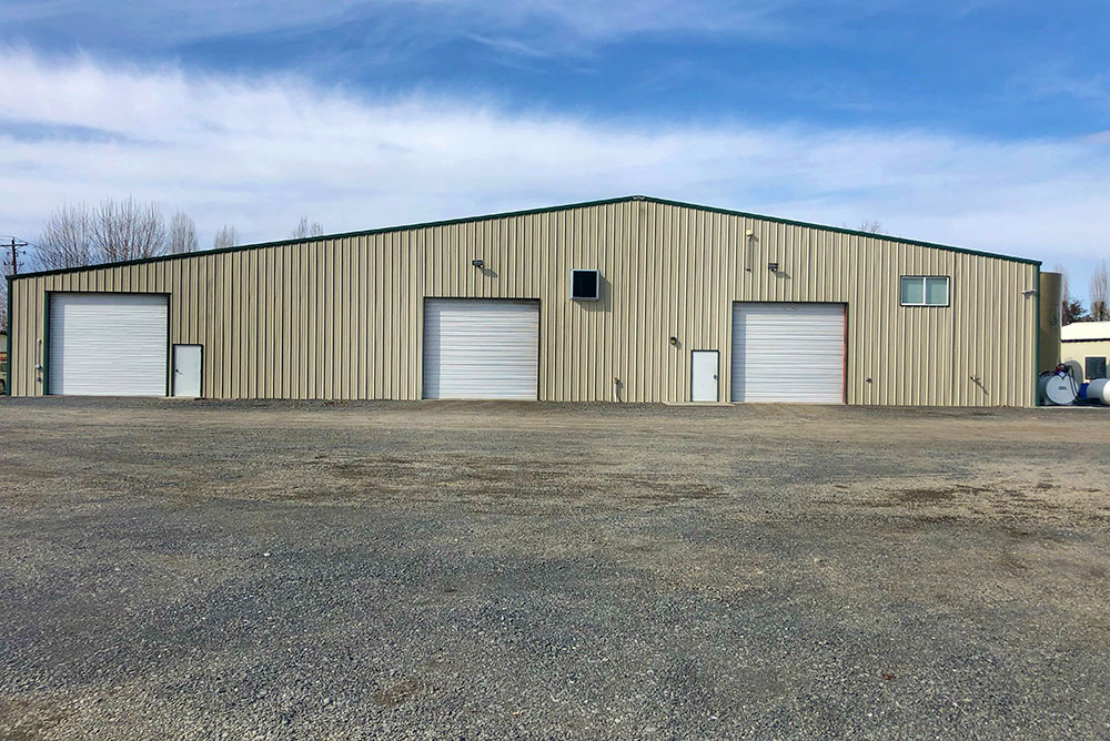 Commercial Warehouse Building