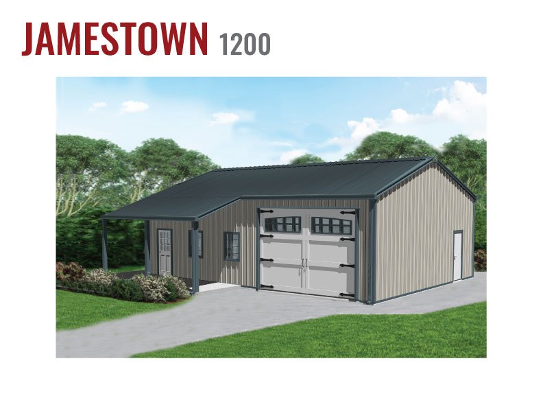 1200 sqft Steel Home