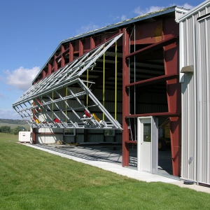 Bi-fold Airplane Hangar Door