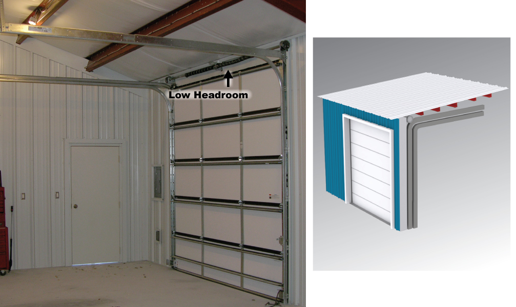 Low Headroom Door Lifts