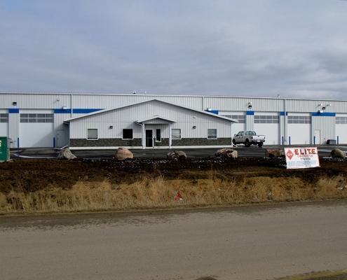 Oil Service Building