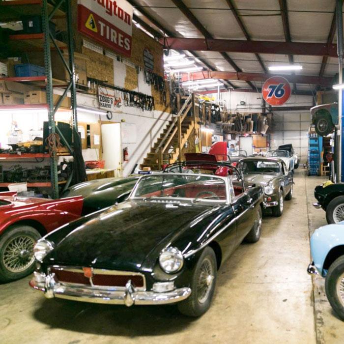 Metal Automobile Shop