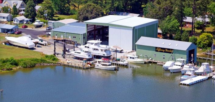 Metal Boat Garage