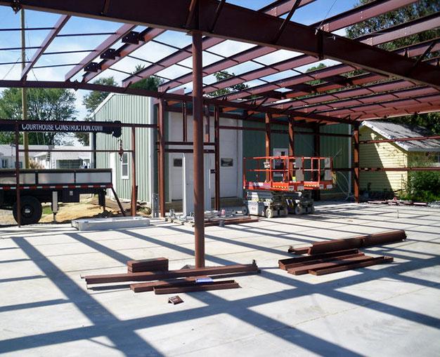 Metal Building Framing