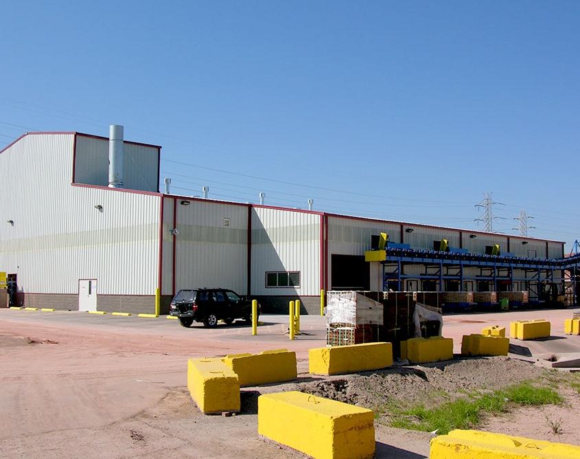 Metal Industrial Building