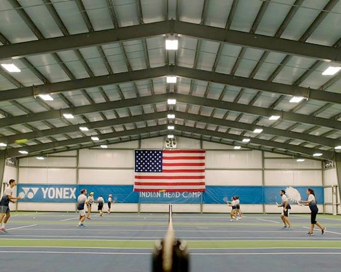 Metal Tennis Facility in Pennsylvania