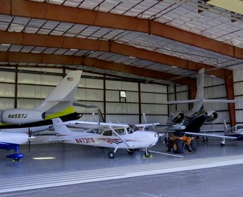 Steel Aircraft Hangar Building