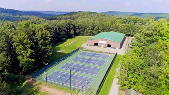 Steel Tennis Facility