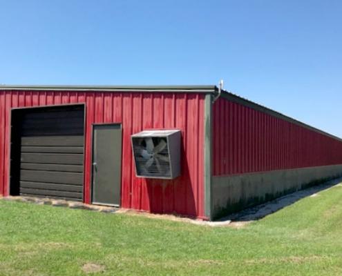Metal Barn Oklahoma