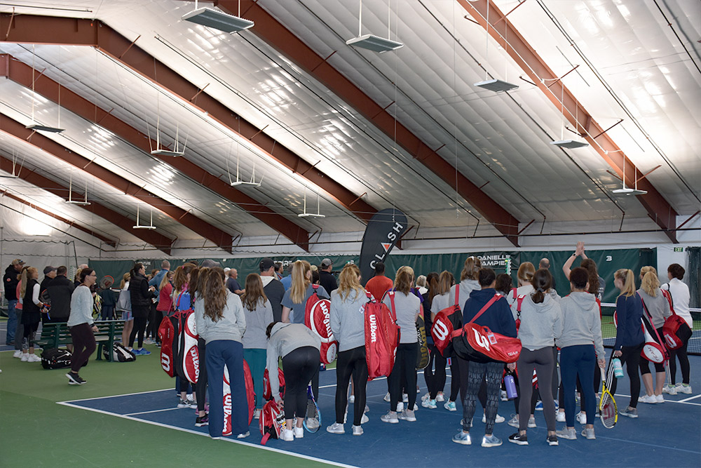 Indoor Tennis Building Colorado
