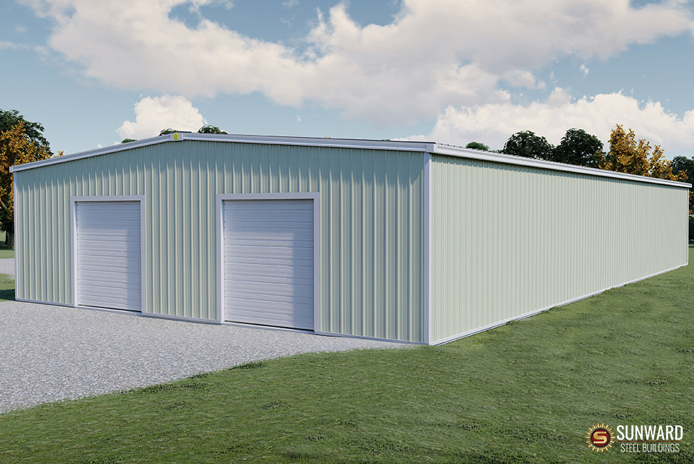 50x95 Steel Building Closeout