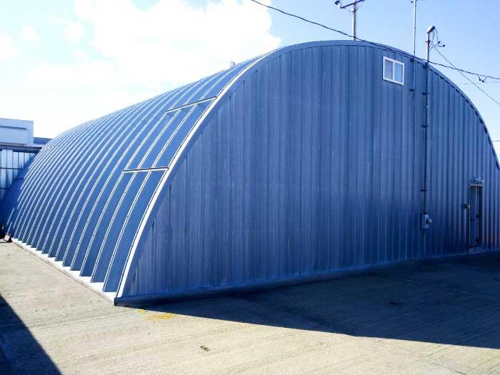 Metal Arch Hangar
