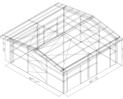 40x40 Clone Building