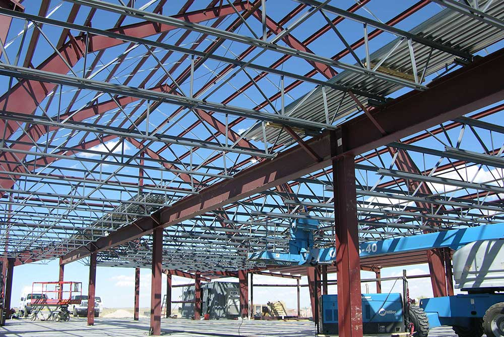 Steel Building Mezzanine Structure