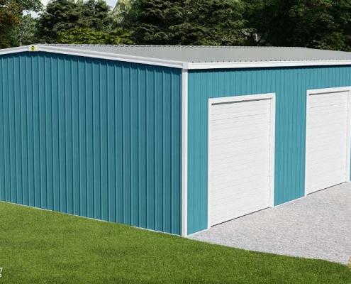 40x60 Steel Building Closout