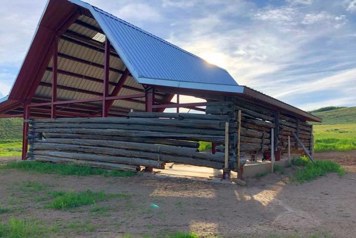 Gambrel Building