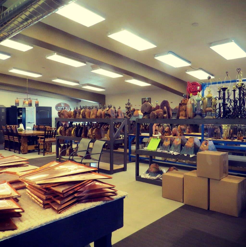 Metal Retail Shop