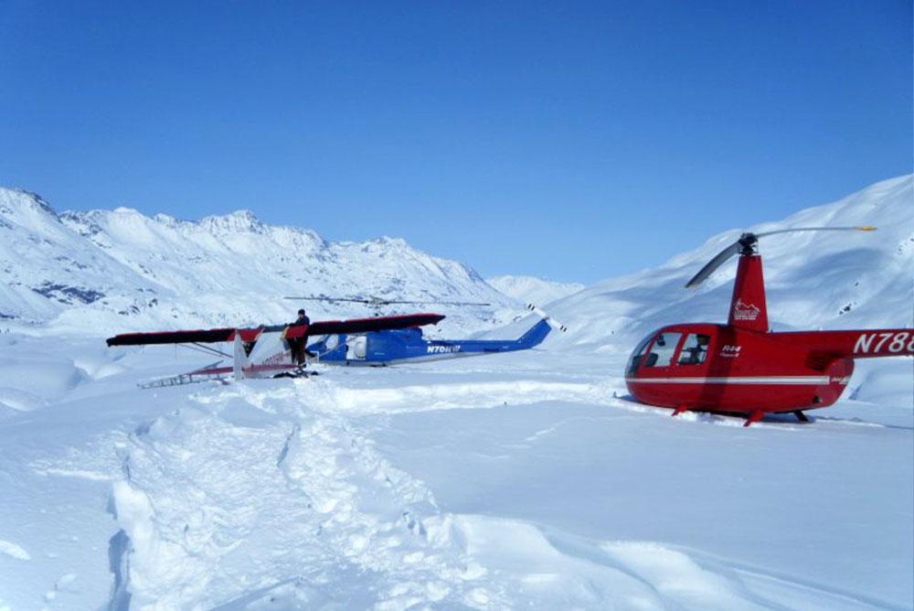 Aircraft Hangar Alaska